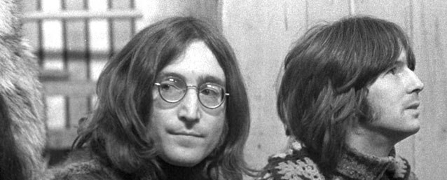 John Lennon and Eric Clapton